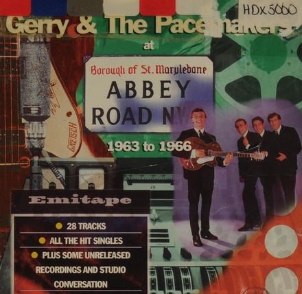 Gerry & the Pacemakers at Abbey Road 1963 to 1966