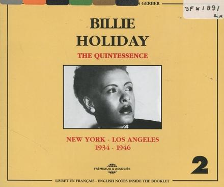 The quintessence. vol.2 : 1934-1946