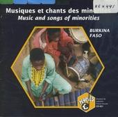 Burkina Faso : musiques et chants des minorités