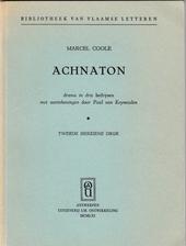 Achnaton : drama in drie bedrijven