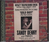Gold dust : live at The Royalty