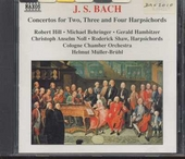 Concertos for two, three and four harpsichords