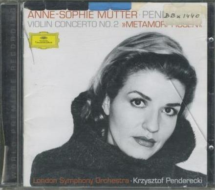 """Violin concerto no.2 """"Metamorphosen"""""""