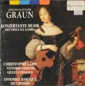 Konzertante Musik mit Viola da Gamba