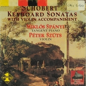 Keyboard sonatas with violin accompaniment
