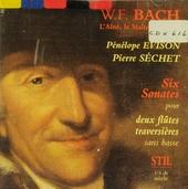 Intégrale des six sonates pour deux flûtes traversières
