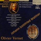 Oeuvres pour orgue. les @contemporains de Johann Sebastian Bach