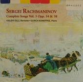 Complete songs vol.3 opp.34 & 38. vol.3