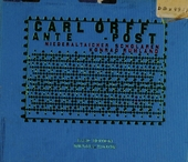 Carl Orff ante - post
