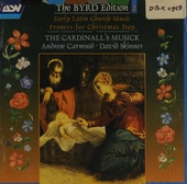 Early latin church music & propers for Christmas