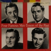 Four famous Met-tenors of the past