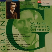 Works for chorus and orchestra 3. vol.9