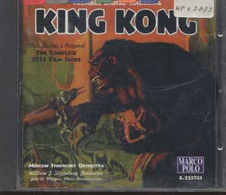 King Kong : the complete 1933 film score