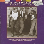Shake your wicked knees rent parties and good times