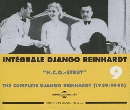 Intégrale Django Reinhardt. Vol. 9, H.C.Q.-strut 1939-1940