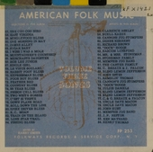 Anthology of American folk music. vol.3 : Songs