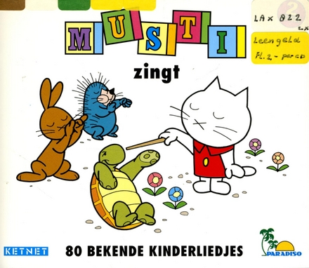Musti zingt 80 bekende kinderliedjes