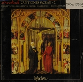 Cantiones sacrae (1619). vol.2
