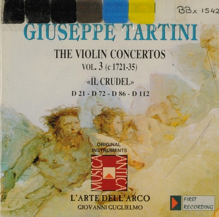The violin concertos. Vol. 3
