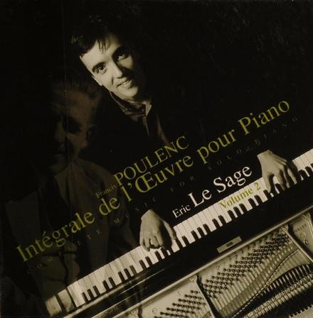 Intégrale de l'oeuvre pour piano