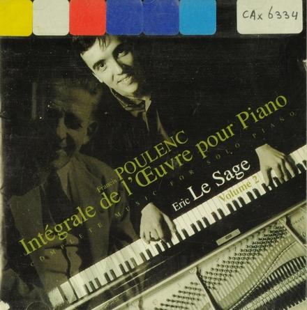 Intégrale de l'oeuvre pour piano. Volume 2