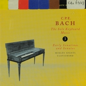 The solo keyboard music 3 : Early sonatinas and sonatas. vol.3
