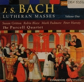 Lutheran masses. Volume 1