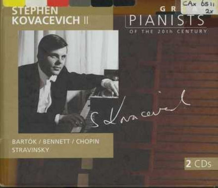 Great pianists of the 20th century. Vol. 61, Stephen Kovacevich, vol. 2