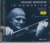 In memoriam Yehudi Menuhin