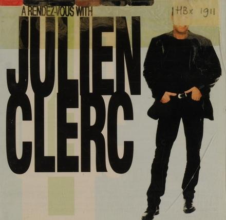 A rendez-vouz with Julien Clerc