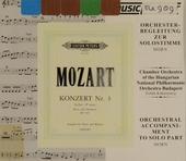 Hornkonzert Es-Dur, KV.447 : Orchesterbegleitung