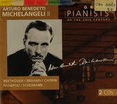 Great pianists of the 20th century. Vol. 69, Arturo Benedetti Michelangeli, vol. 2