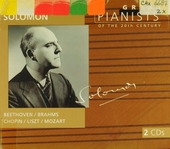 Great pianists of the 20th century. Vol. 92, Solomon