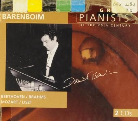 Great pianists of the 20th century. Vol. 9, Daniel Barenboim