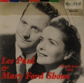 Les Paul & Mary Ford shows - 1950