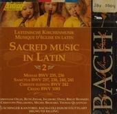 Sacred music in Latin 2. vol.72
