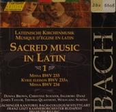 Sacred music in Latin 1. vol.71