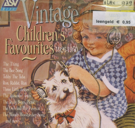 Vintage children's favourites : 1926-1950