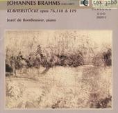 Klavierstücke opus 76, 118 & 119
