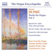 Works for organ. Vol. 9