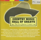 Country music hall of greats : the first quarter century