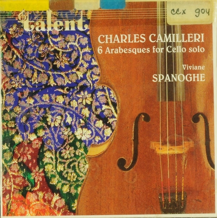 6 Arabesques for cello solo
