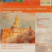 Triumphal music for organ & orchestra