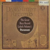 The Great Race record labels. vol.1 : Paramount