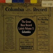 The Great Race record labels. vol.2 : Columbia