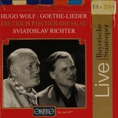 Lieder und Balladen nach Texten von Goethe