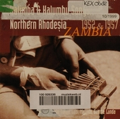 Kalimba & Kalumbu songs : 1952-1957