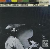 Listen to Barry Harris... solo piano