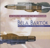 44 Duets for violins on the nyckelharpa