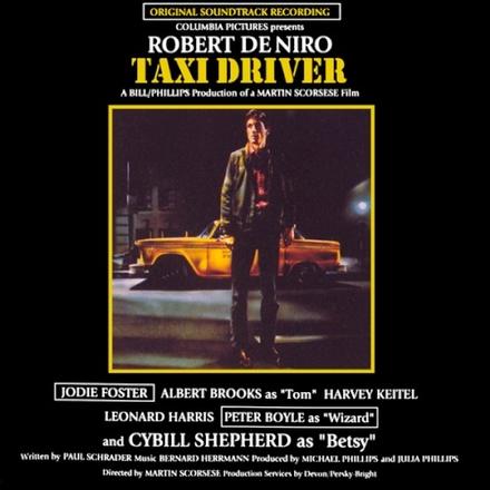 Taxi driver : original soundtrack recording